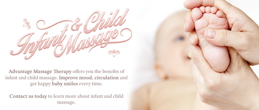 Infant and child massage